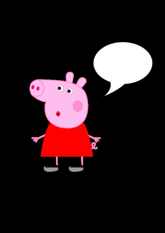 Pepa clipart picture black and white download Free Clipart: Peppa Pig | edoardoposa picture black and white download