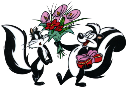 Pepe le pew clip art svg free Pepe lew pew clipart - ClipartFest svg free