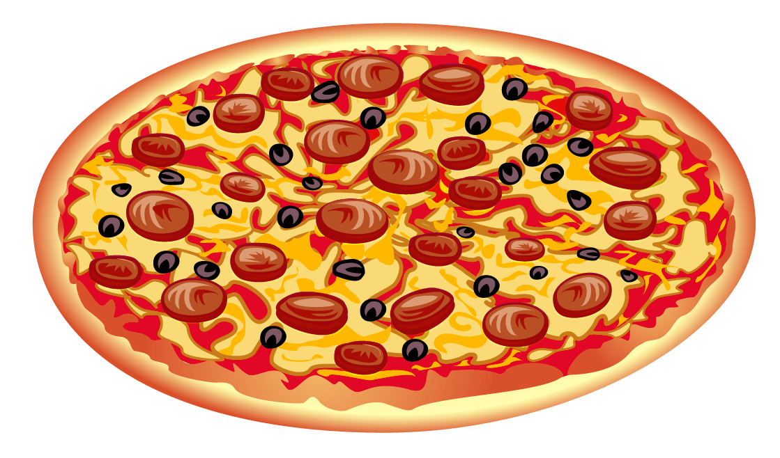 Peperoni clipart clip download Pepperoni Pizza Clipart transparent PNG - StickPNG clip download