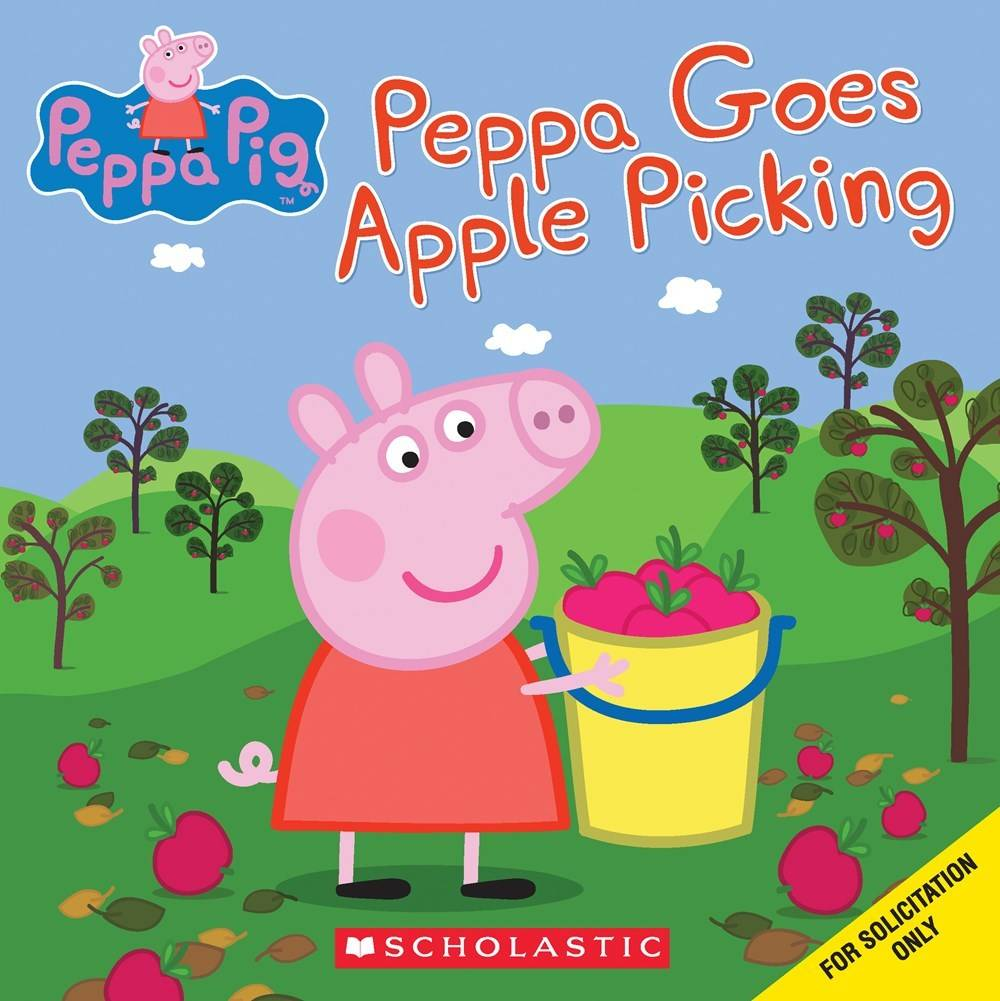 Peppa pig going potty clipart svg freeuse download Peppa Pig: Goes Apple Picking svg freeuse download
