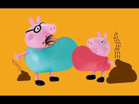 Peppa pig going potty clipart vector transparent stock Peppa Pig poops in toilet poo poo Poop or candy - Clip Art Library vector transparent stock