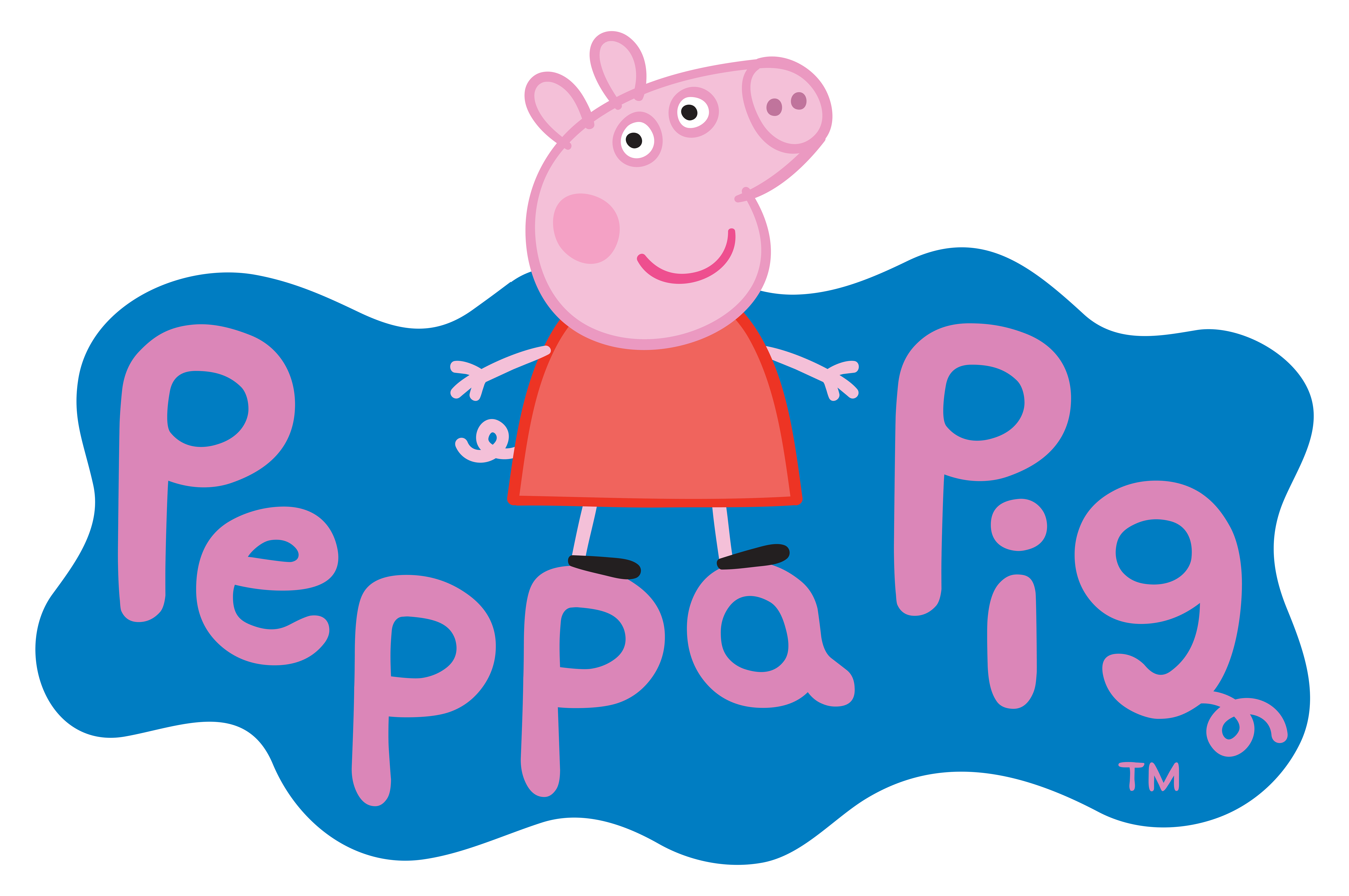 Peppa pig house clipart graphic royalty free Peppa Pig Logo Transparent PNG Clip Art Image | 356 | Pinterest ... graphic royalty free