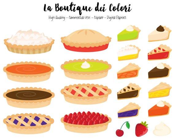 Peppermint pie clipart jpg freeuse library Pie Clipart, Cute Graphics PNG, Pumpkin pie, strawberry pie ... jpg freeuse library