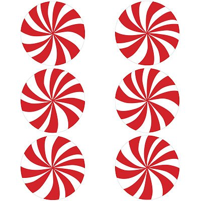 Peppermint swirl clipart library Friday Find: Peppermint-Swirl Stickers | Corinna Wraps library