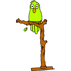 Perched clipart vector royalty free library Parrot Perched clipart, cliparts of Parrot Perched free download ... vector royalty free library