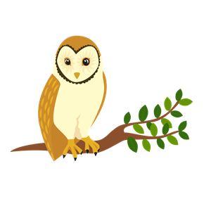Perched clipart