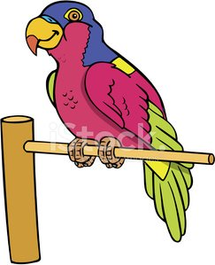 Perched clipart clipart library download Perched Parrot premium clipart - ClipartLogo.com clipart library download