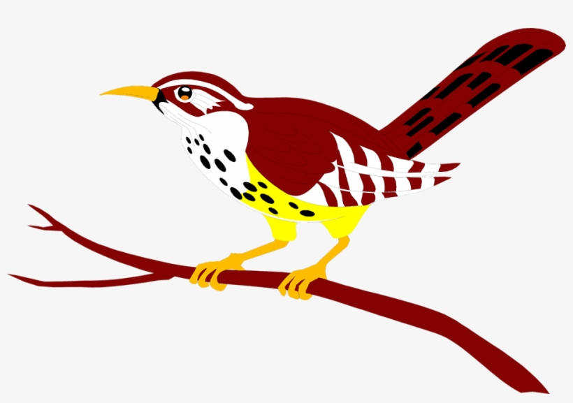Perched clipart banner download Bird Red - Bird Perched On A Branch Clipart - Free Transparent PNG ... banner download