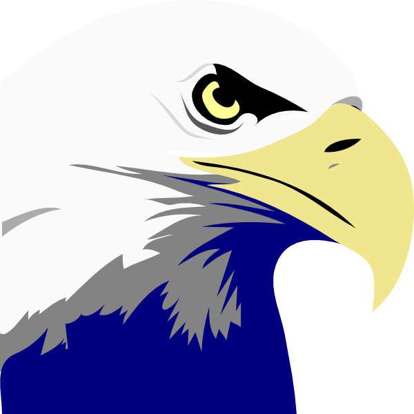 Perchedeagle clipart for photoshop clipart freeuse library HD Temporary Bald Eagle Logo Transparent & Png Clipart - Bald Eagle ... clipart freeuse library