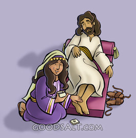 Perfume mary jesus feet clipart pictures perfume clipart download Pictures of mary anoints jesus feet - 14 images clipart download