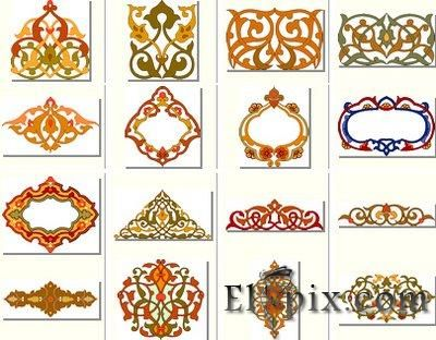 Persian clipart png freeuse download Vector Persian Clipart - Illumination   Live pictures ... png freeuse download