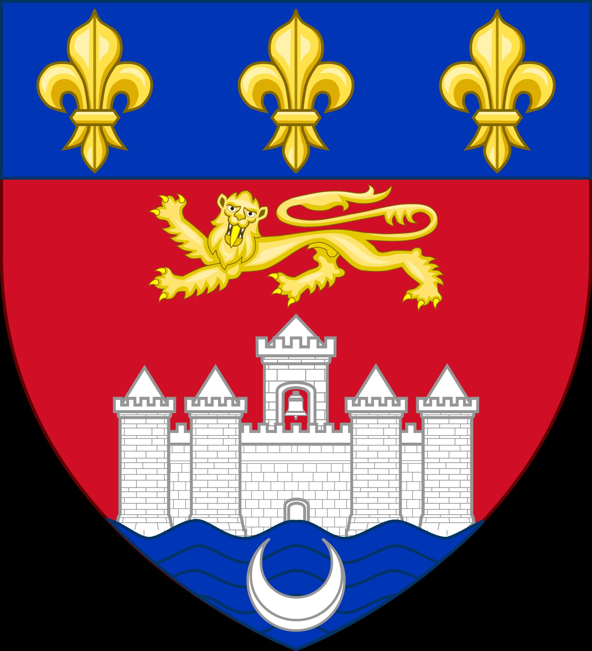 Persian pahlavi crown clipart clip art transparent download Bordeaux coat of arms | Heraldry,Crests ,Armorial Ensigns | Pinterest clip art transparent download