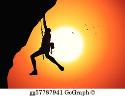 Person about to fall off cliff clipart graphic Cliff Clip Art - Royalty Free - GoGraph graphic