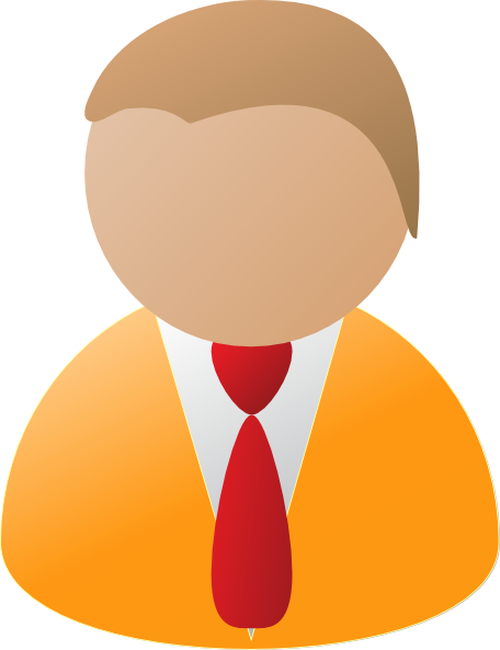 Person clipart icon jpg stock Teamstijl Person Icon Orange Clip Art at Clker.com - vector ... jpg stock