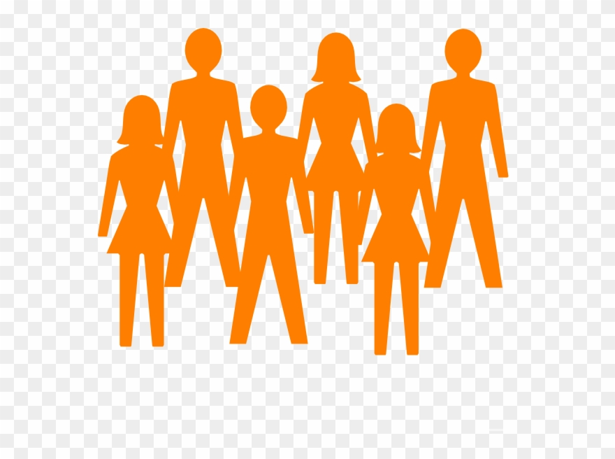 Person clipart transparent background picture freeuse library Group Of People Clipart Transparent Background - Png ... picture freeuse library