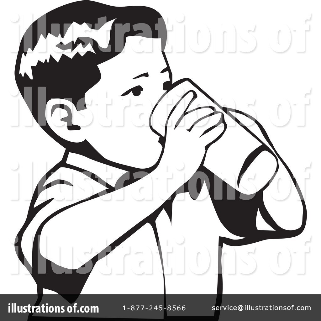 Person drinking water clipart black and white clip art free Drink Water Clipart Black And White Clipground Cartoon Baby ... clip art free