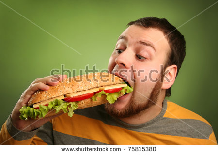 Person eating a hamburger with funny eyes clipart banner stock person eating a hamburger with funny eyes clipart 20 free ... banner stock