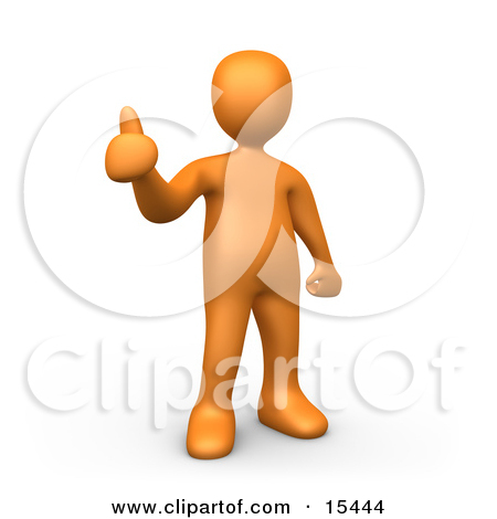Person giving thumbs up clipart svg transparent stock Orange Person Giving the Thumbs up Clipart Illustration Image by ... svg transparent stock