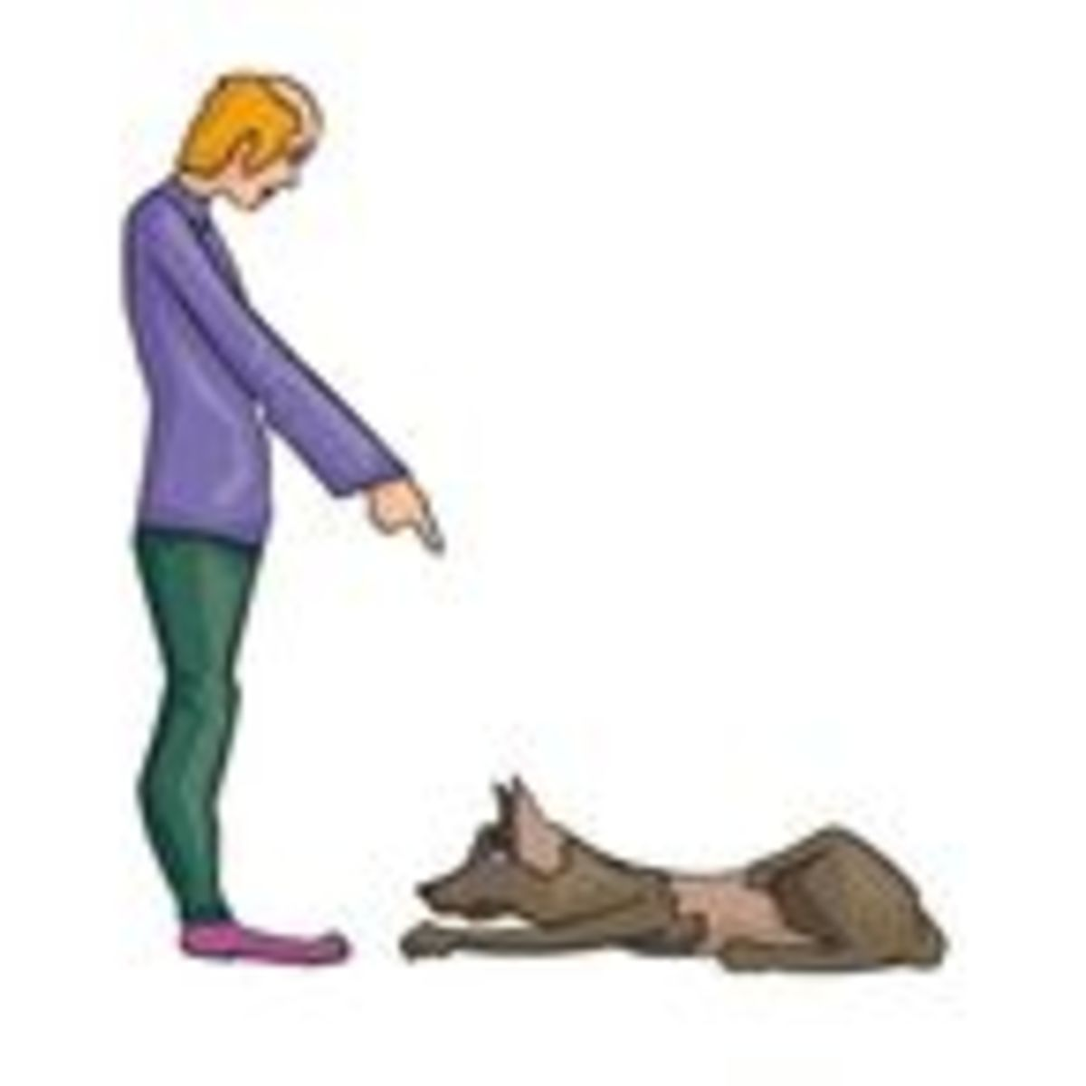 Person handing a treat to a dog clipart clipart royalty free library Who Gives a Dog a Command and How It Is Given Matters ... clipart royalty free library