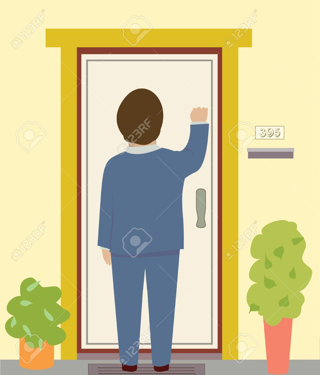 Person knocking on door clipart vector library Person knocking on door clipart 7 » Clipart Portal vector library