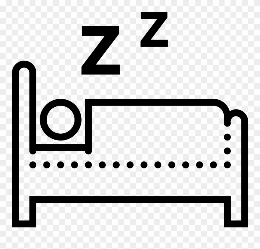 Person laying down clipart image transparent library Seen From The Side, A Person Lying Down In Bed - Icon ... image transparent library