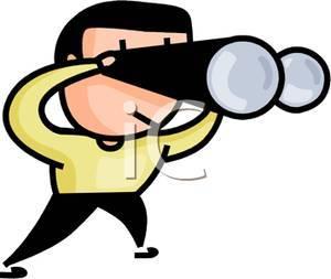 Person looking through binoculars clipart image transparent library Man looking through binoculars clipart » Clipart Portal image transparent library
