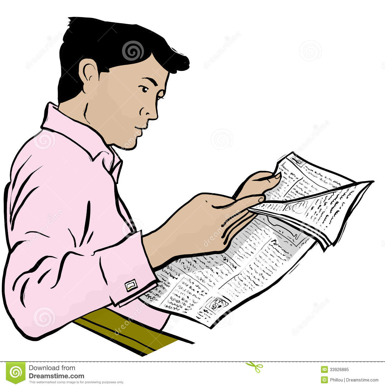Person reading newspaper clipart clip freeuse library Man reading newspaper clipart 5 » Clipart Station clip freeuse library