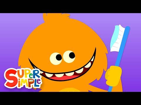 Person smiling which brushing teeth clipart side view image library library Brush Your Teeth | Kids Songs | Super Simple Songs - YouTube image library library