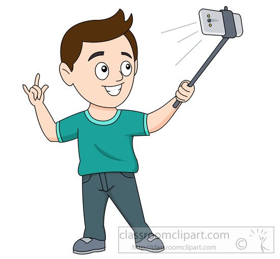 To take a selfie clipart jpg stock Person Taking A Picture Clipart jpg stock