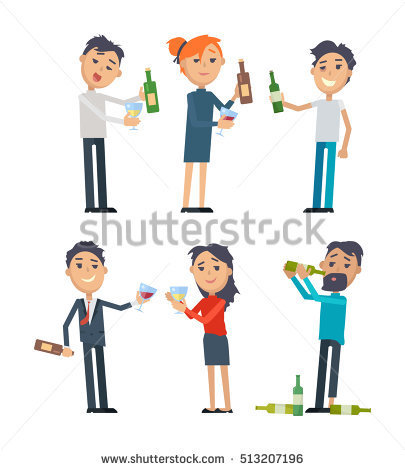 Person vs people clipart png black and white stock Drunk Man Stock Images, Royalty-Free Images & Vectors | Shutterstock png black and white stock