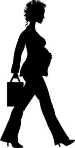 Person walking holding part in production plant clipart image stock silhouette purses | ... clip art silhouette Of A Pregnant Women ... image stock