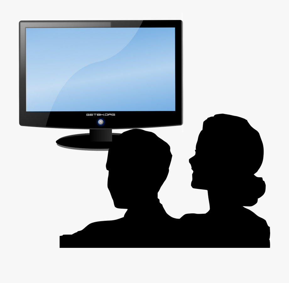 Person watching tv clipart free Clip Art Free Library Tv Clip Art At - People Watching Tv ... free