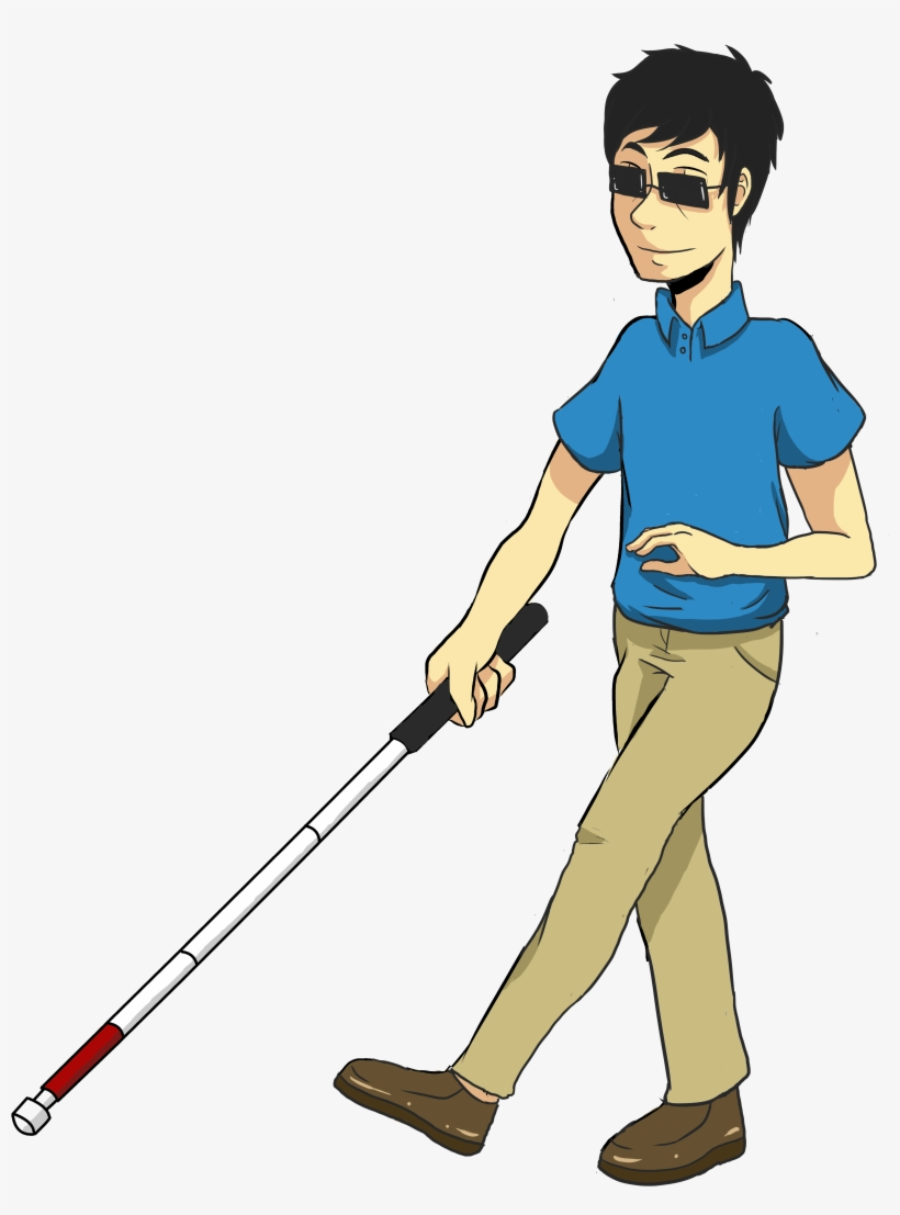 Person with disability clipart banner free Blind Cane Clipart - Person With Disability Clipart ... banner free