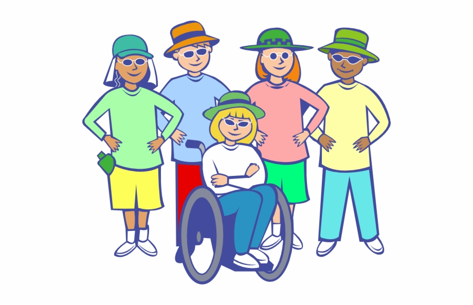 Person with disability clipart png library library Persons With Disabilities Clipart Free PNG Images & Clipart ... png library library