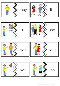 Personal pronouns clipart clip art black and white library 18 Best Personal Pronouns images in 2017   Teaching english ... clip art black and white library