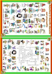 Personality adjectives clipart jpg transparent download English Exercises: Personality Adjectives jpg transparent download