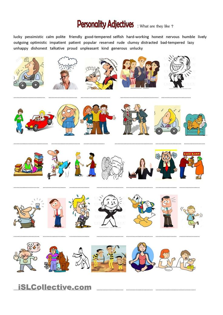Personality adjectives clipart png black and white stock 17 Best ideas about Personality Adjectives on Pinterest | List of ... png black and white stock