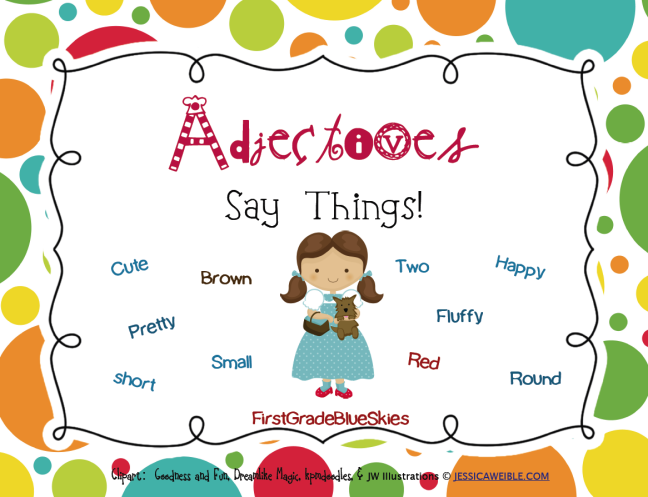 Personality adjectives clipart clip freeuse library CLASS III- WORKSHEET-ADJECTIVES. | triotechnoblog clip freeuse library