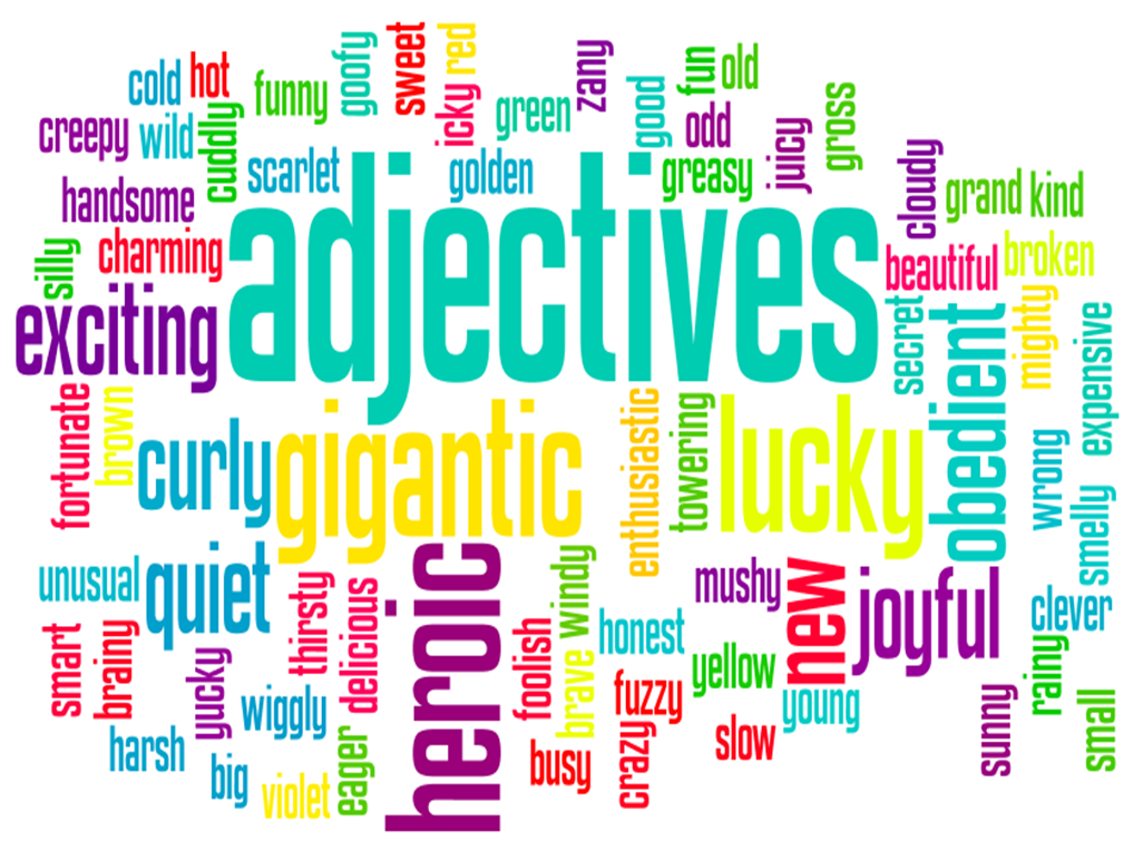 Personality adjectives clipart picture download Adjectives - Lessons - Tes Teach picture download