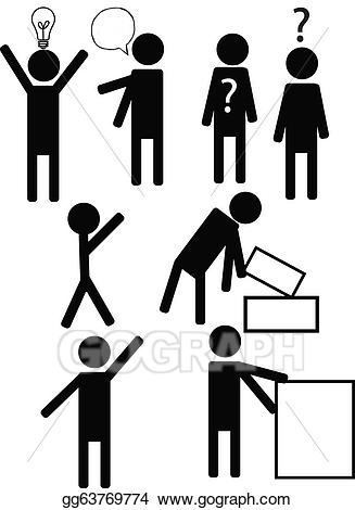 Personnage clipart svg free EPS Illustration - Personnage. Vector Clipart gg63769774 ... svg free