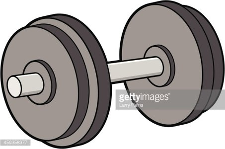 Pesa clipart black and white library Dumbbell premium clipart - ClipartLogo.com black and white library