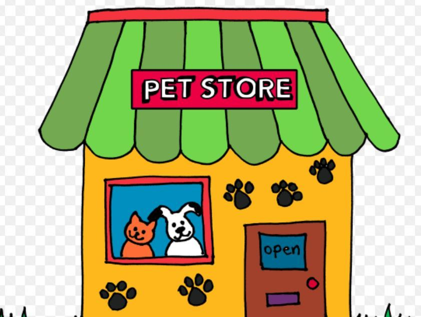 Pet store clipart vector free library clipart pet store | Carol\'s Carousel Creations vector free library