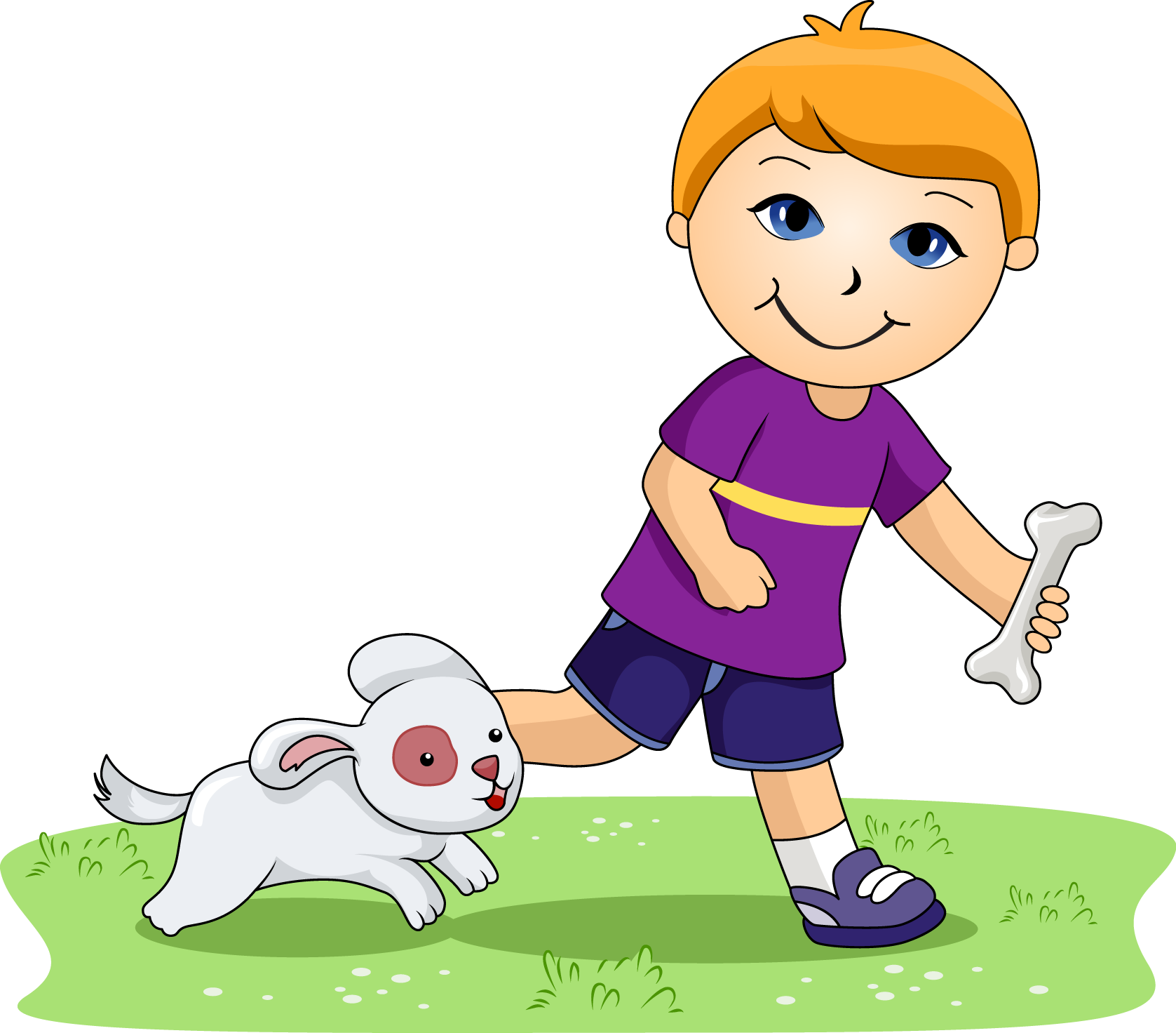 Boy and dog clipart banner transparent library My pet dog clipart - ClipartFest banner transparent library