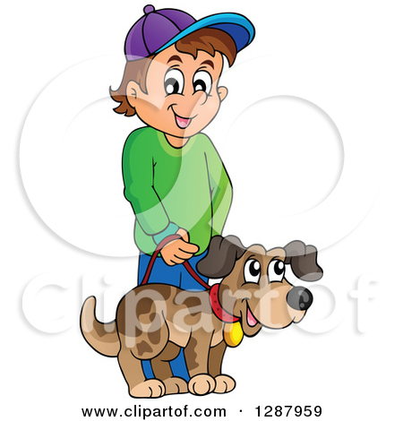 Pet the dog clipart vector library library Royalty-Free (RF) Pet Clipart, Illustrations, Vector Graphics #1 vector library library