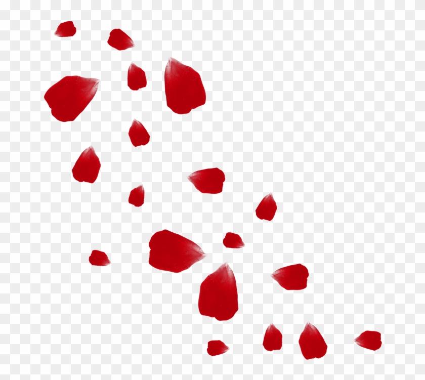Petalos clipart graphic library download Petalos De Rosas Png - Rose Petals Vector Png, Transparent ... graphic library download