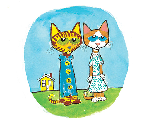 Pete the cat and brother bob clipart clip art library library Meet Pete the Cat and His Friends | PeteTheCatBooks.com clip art library library