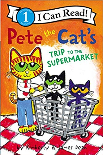 Pete the cat and brother bob clipart image freeuse stock Amazon.com: Pete the Cat\'s Trip to the Supermarket (I Can ... image freeuse stock