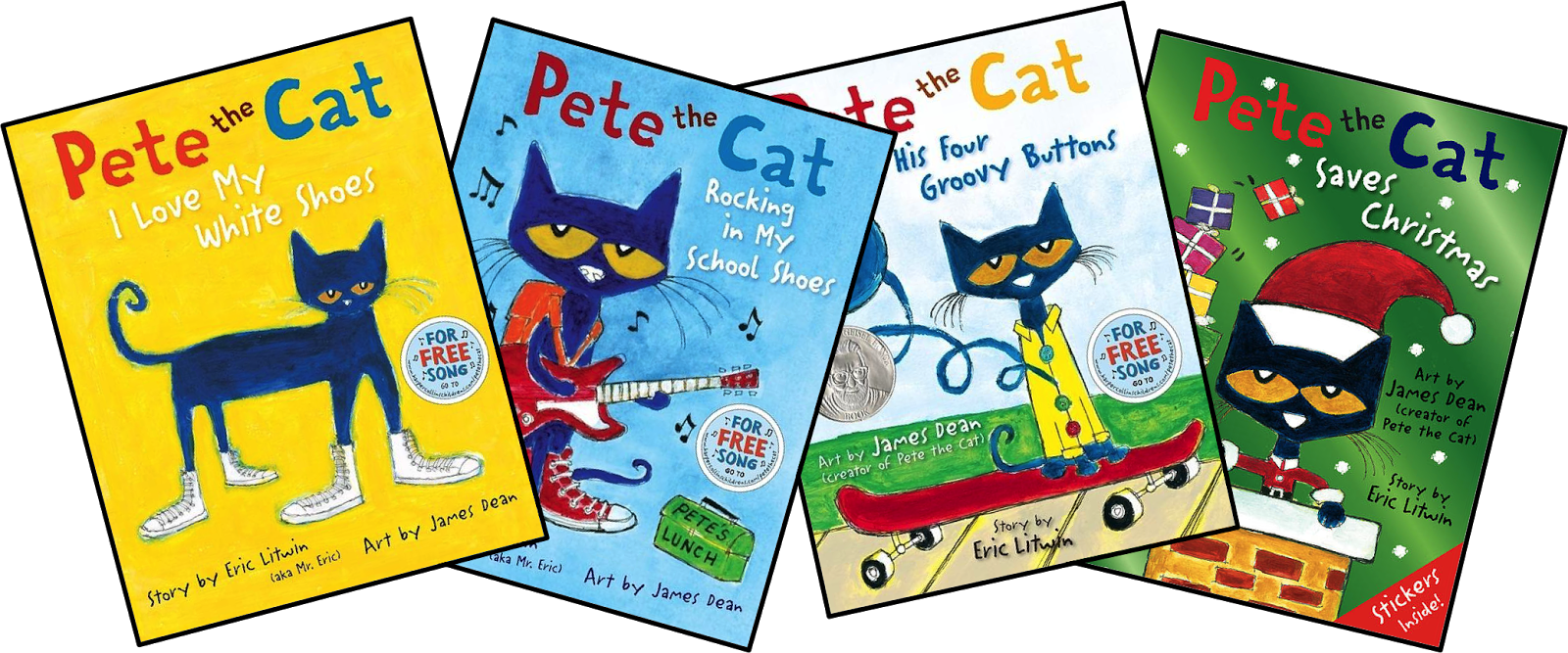 Pete the cat and his four groovy buttons clipart clipart royalty free download A Spoonful of Learning: Eric Litwin's Newest Book and CONTEST!!! clipart royalty free download