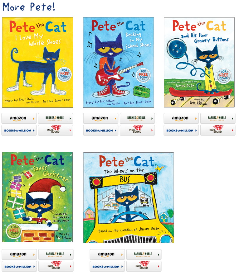 Pete the cat buttons clipart clip free library Rylan has this book series and loves them Pete the Cat Books ... clip free library