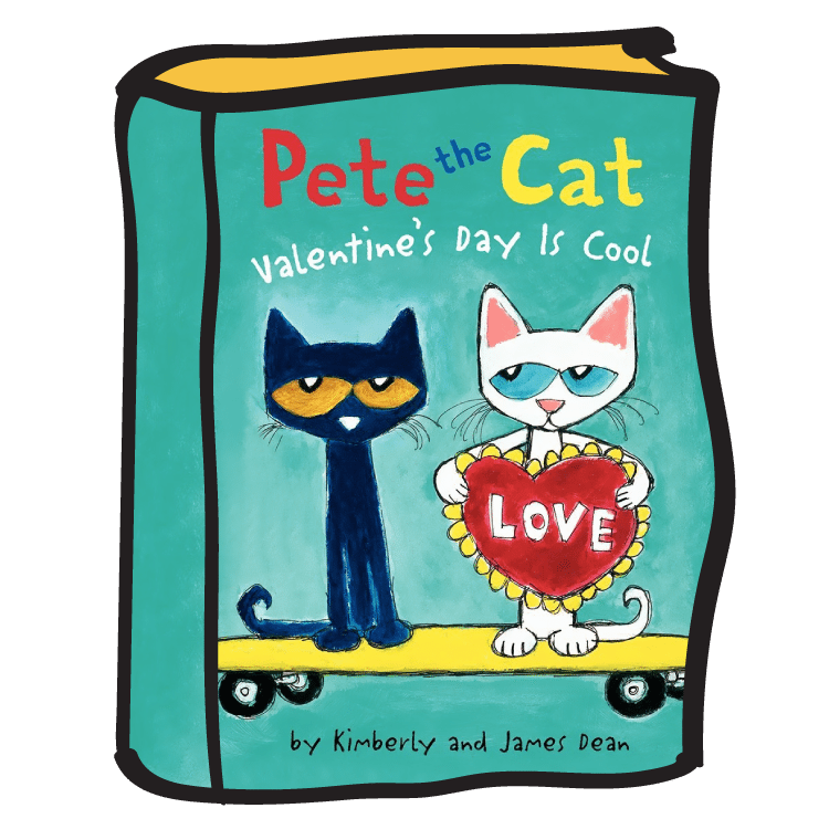 Pete the cat and his four groovy buttons clipart image black and white library Story Time With Ms. Becky image black and white library